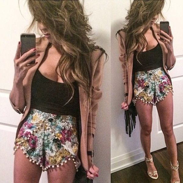 outstanding pom pom shorts outfit girls