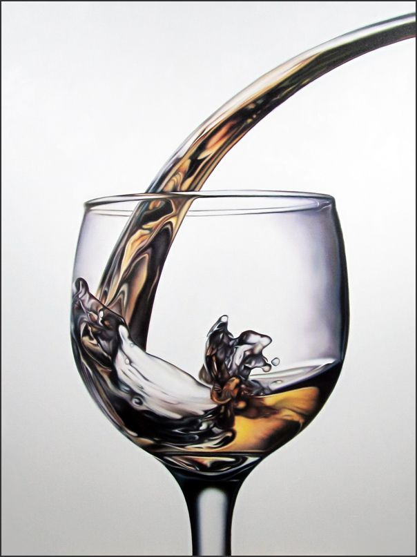 American paintings by Todd Ford, hyperrealism art