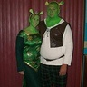 Homemade Shrek and Fiona costume for couples: Cosplay Costumes, Homemade Shrek, Fiona Costume, Costumes For Couples