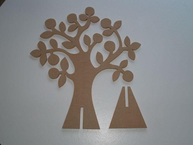 Doopsuikerboom met voet bomen pinterest dekupiers ge - Schmuckhalter basteln ...