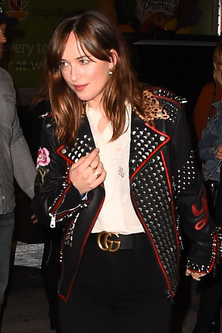 Dakota Johnson on a night out in NYC - 13 October 2016
