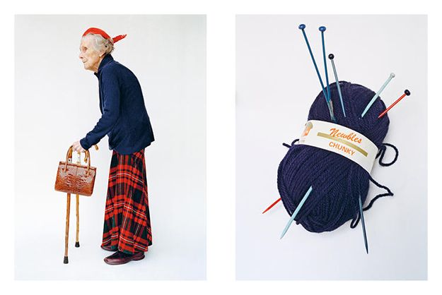 Gorgeous grannies are hired to be models for an impressive photo shoot.
