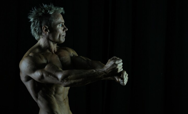 45 year old 100% natural athlet Henning Kristensen. www.45natural.dk Be strong - be natural