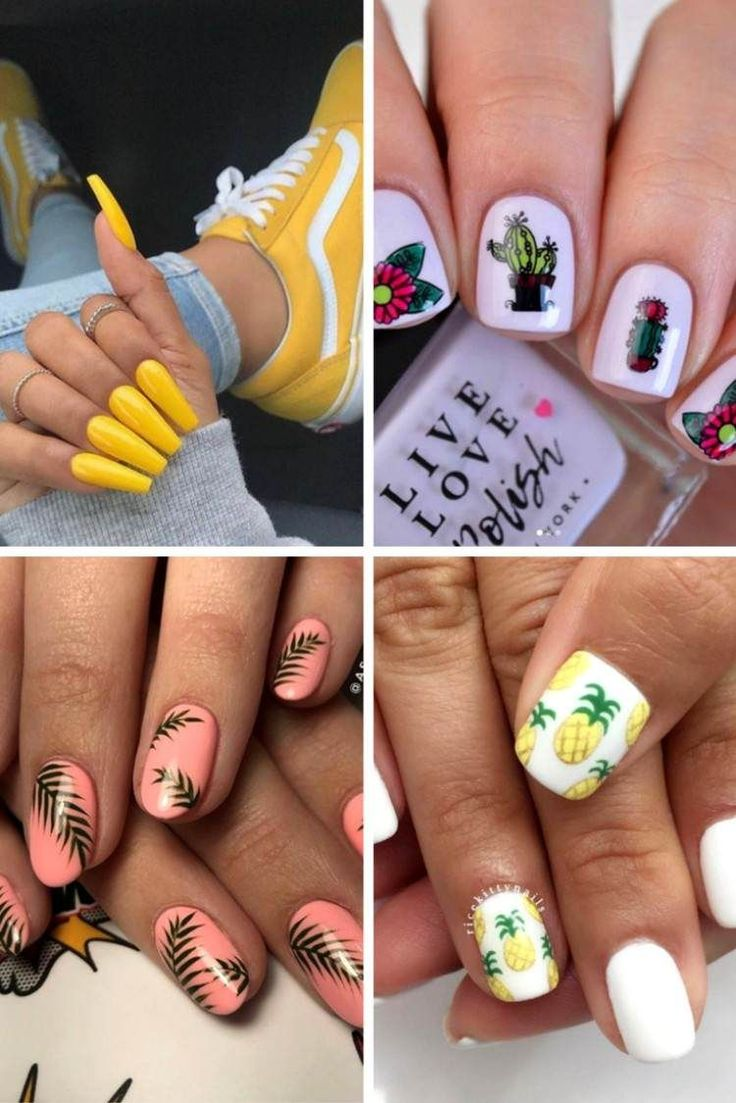 Summer nail trend 2019 in 40+ Photos - Nails and nail art #ongles #onglesmat #mat en 2020 | Idee ...