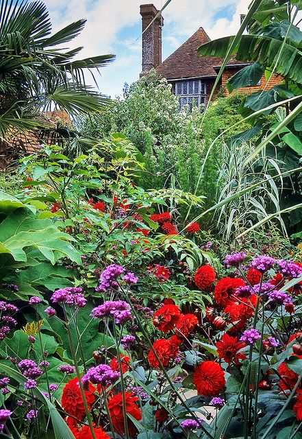 Great Dixter Gardens, Sussex, England   A vibrant, colorful and inspirational English garden   by ukgardenphotos