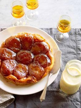 Apple tarte Tatin: http://www.gourmettraveller.com.au/apple-tarte-tatin.htm