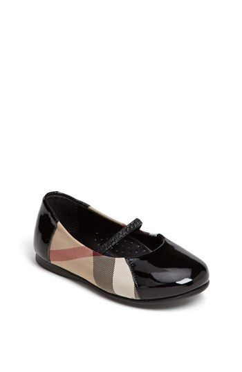 Burberry 'Milly' Flat for Girls [Nordstrom]