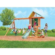 Outdoor Play Springfield  Springfield Wood Gym Set in Great Big ToysRUs Play Book from ToysRUs on my personal digital mall.