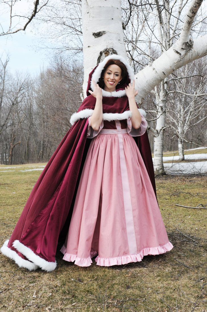 Wintertime Belle by AngelSamui on deviantART