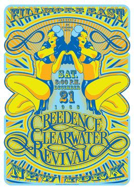 CREEDENCE Clearwater Revival   New York  21 December by tarlotoys, €10.00