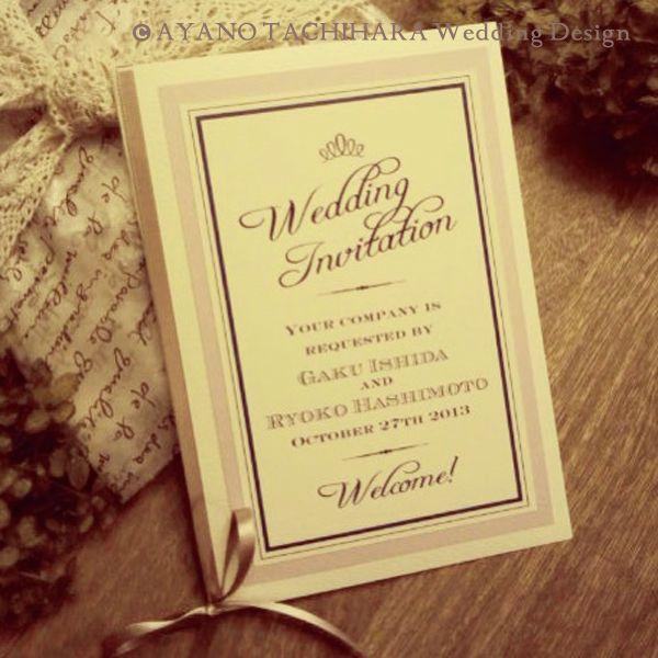MY STYLE Wedding » 検索結果: » ペーパーアイテム