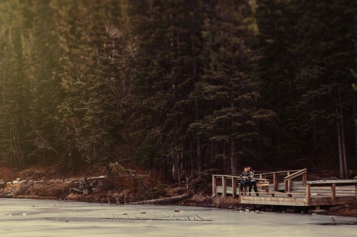 I am with you. Taken near to Kananaskis, Rocky Mountains, Canada. Photo by Benjamin Stuart Photography #weddingphotography #rockies #canada #love #engagementshoot #soontobemrandmrs