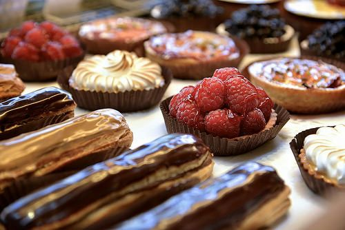 David Machet. Traditional french pastries.