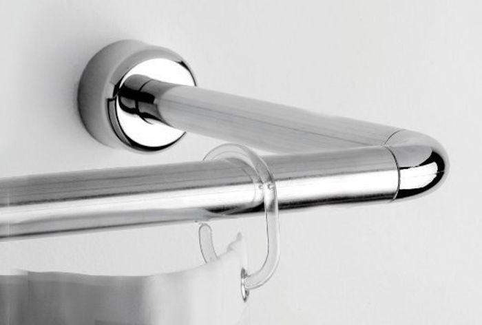 Das Universal Duschstangen-Set aus verchromten Aluminium besteht aus unterschiedlich langen Duschstangen, Verbindungsstücken und Winkeln, so kann die Duschstange individuell an das Bad angepasst werden. Die Duschstange als sowohl in L-Form als auch in U-Form befestigt werden.