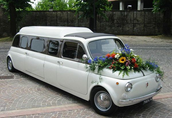 Fiat 500 Limousine Maybe we can stretch Natasha's 500 in time for her wedding