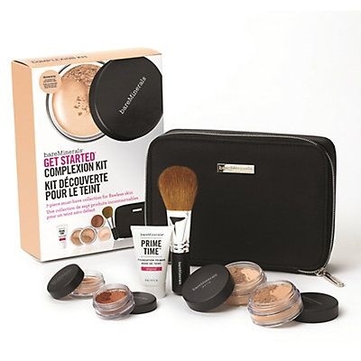 bare Minerals Coupon Code: Get On The Beauty List And Get 10% OFF on your next purchase. bareMinerals Get Started Complexion Kit