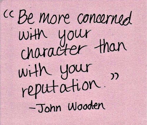 character over reputation quote