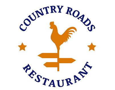 """Check out new work on my @Behance portfolio: """"Country Roads Logo Design"""" http://be.net/gallery/31727199/Country-Roads-Logo-Design"""