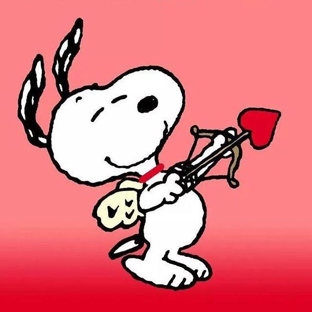 Snoopy O Cupido Apaixonado!! #snoopy #love #peanuts