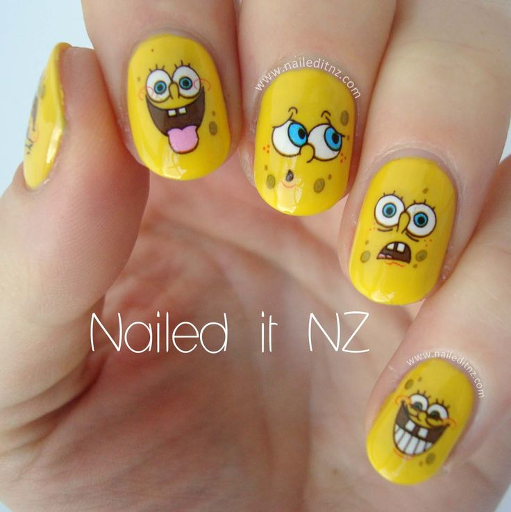 88 best cartoon characters images on pinterest nail art cartoon themed nail art prinsesfo Image collections