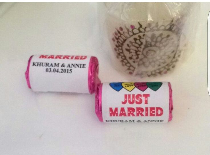 Wedding favours #lovehearts