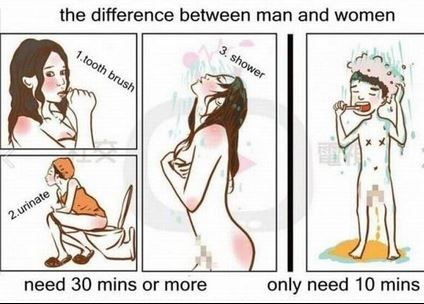 30 Hilarious Things That Sum Up The Differences Between Men and Women 61 - https://www.facebook.com/diplyofficial