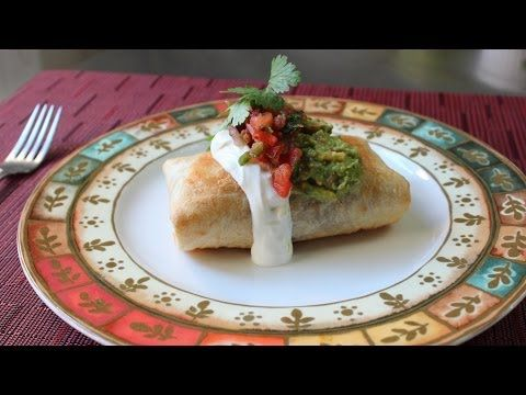 Chef John from Food Wishes has done it again. Chicken Mushroom Chimichanga - How to Make a Chimichanga (Oven Fried Burrito)