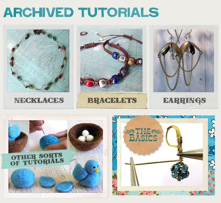million awesome jewelry tutorials