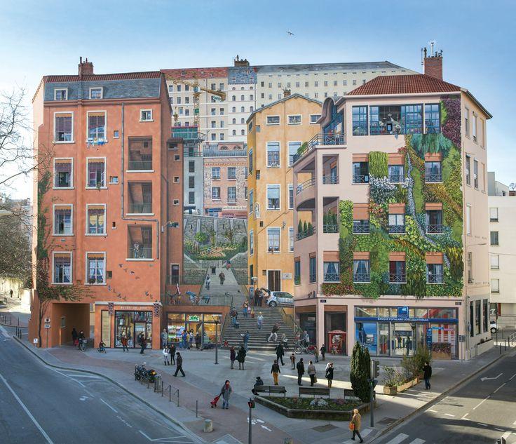 Lyon France | ... en laissant parler les murs laissez vous conter l histoire de la