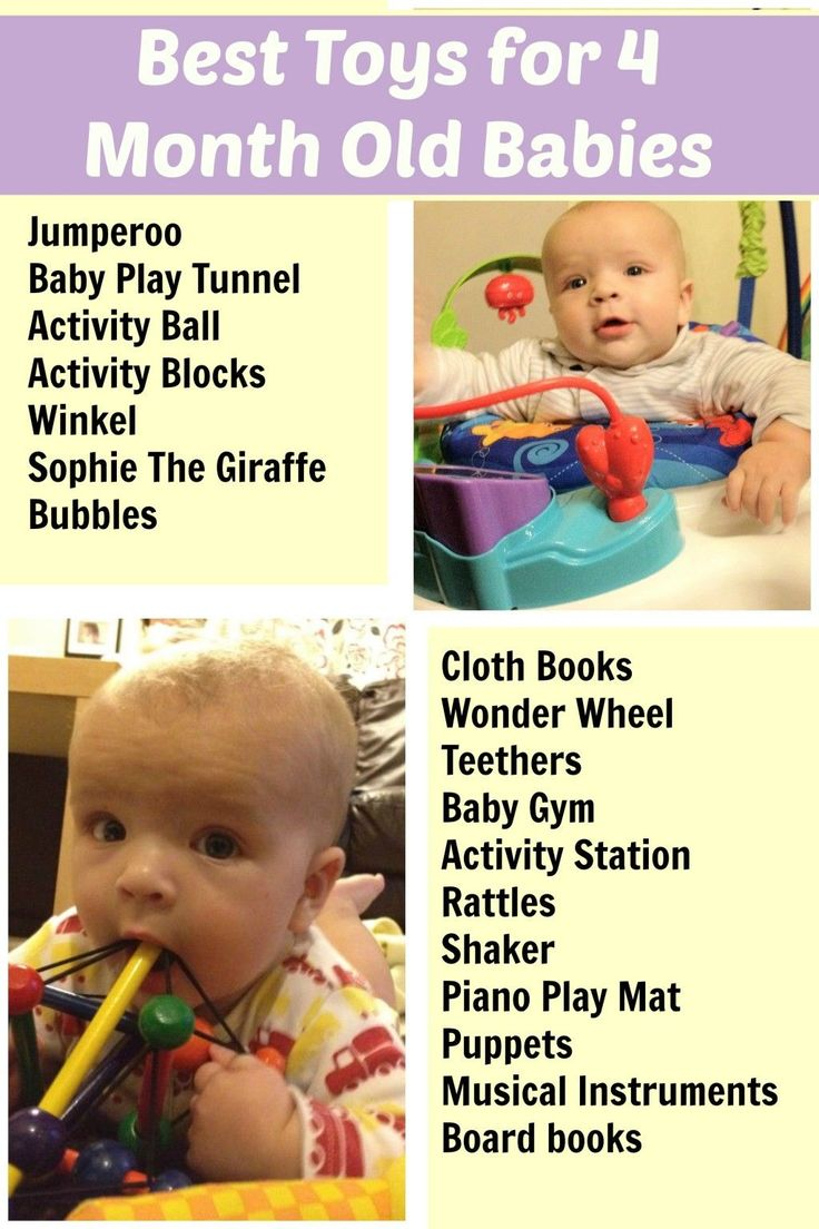 Best Toys for 4 Month Old Baby