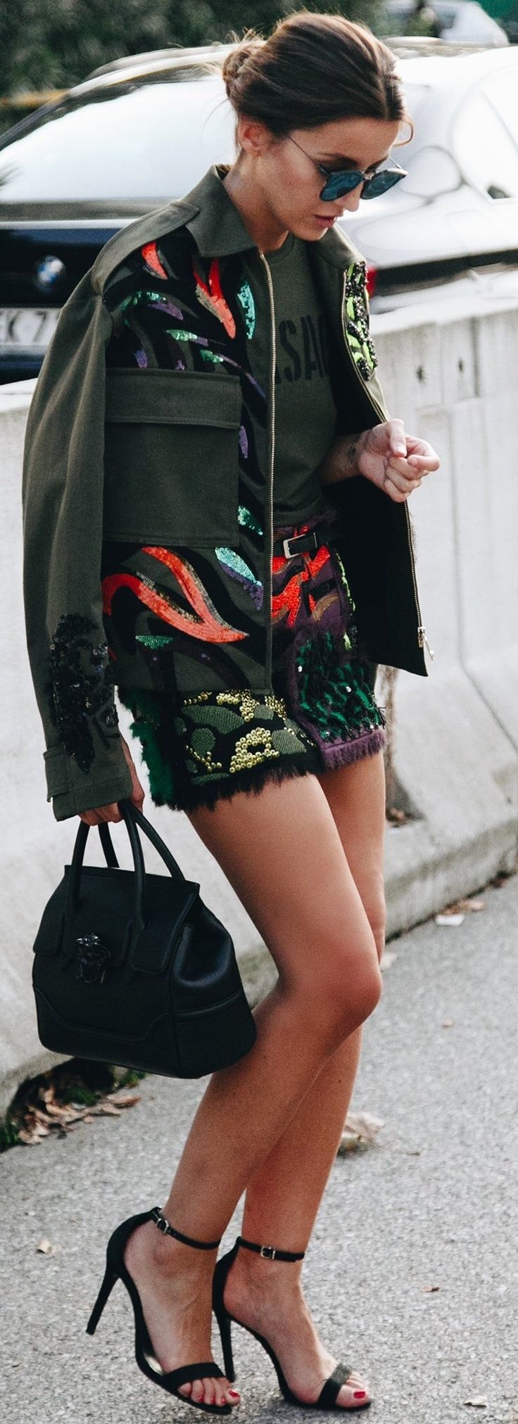Versace Olive Combo | MFW Source