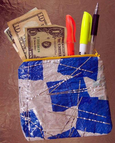 How to Fuse Plastic Bags into a Purse. Learn how to make a purse using fused grocery bags.