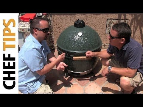 Big Green Egg Tutorial and Review - How to Use the Big Green Egg - YouTube