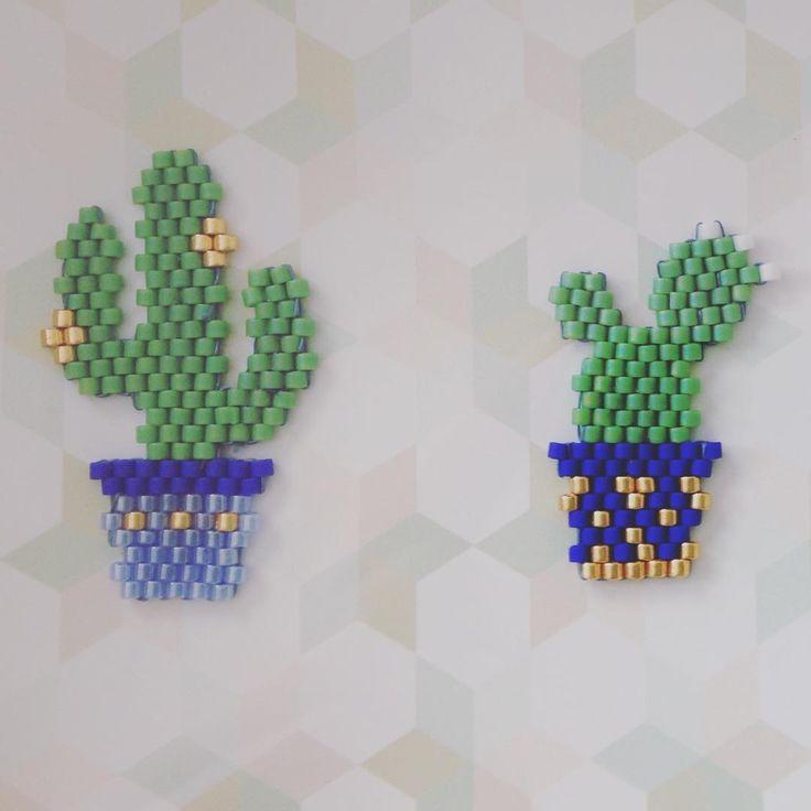 #brickstagram #brickstitch #jenfiledesperlesetjassume #miyuki #beads #cactus