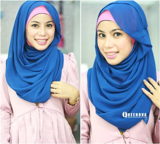Queenova: Hijab ' jilbab Tutorial: Layering Style