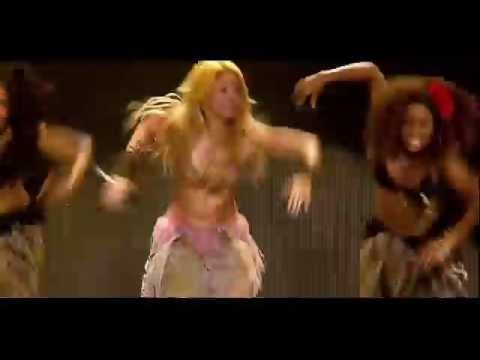 Shakira - Waka Waka (This Time For Africa) (Live From Paris) - Remember to look at what her dancers do, not what she does...