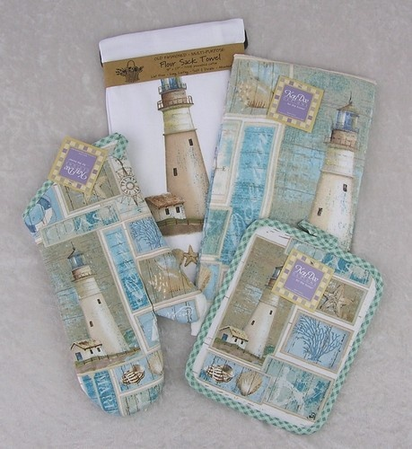 Lighthouse Kitchen Towels