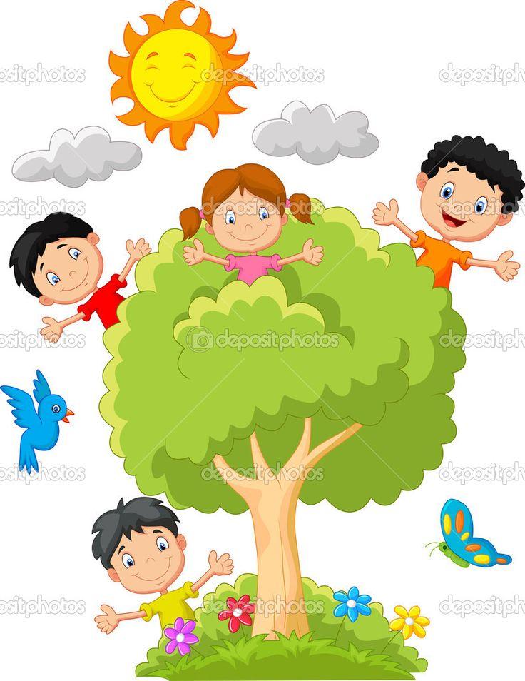 arbol con niños - Buscar con Google