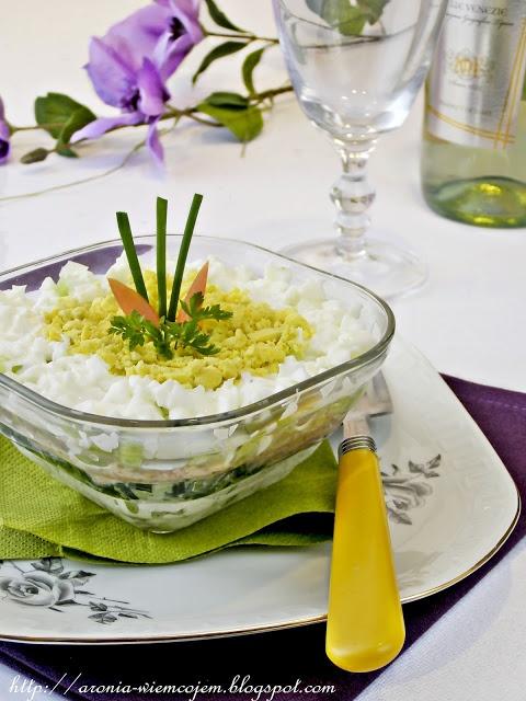 Wiem co jem - Sałatka ryżowa z tuńczykiem