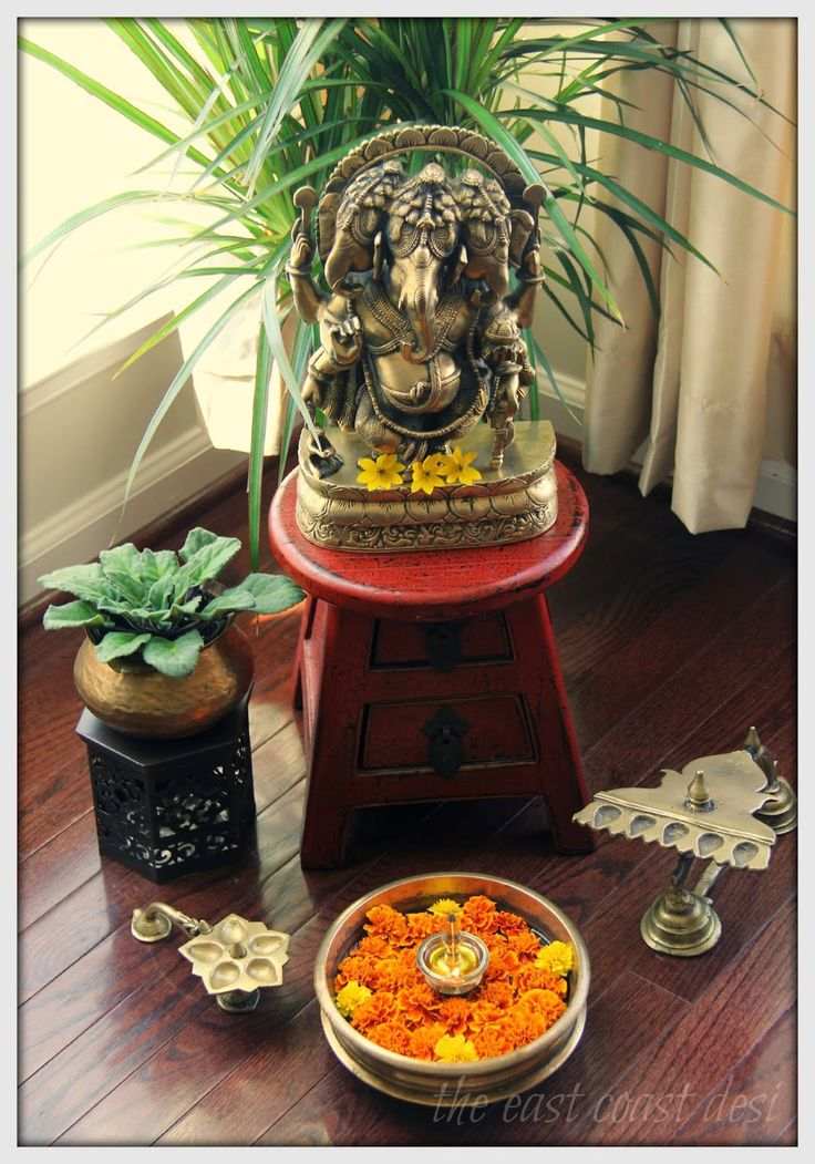 229 best images about pooja room decor ideas on pinterest for Simple diwali home decorations