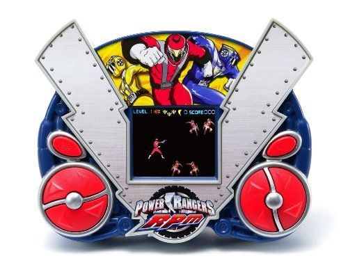 Techno Source Disney Power Ranger RPM LCD Handheld Game by Techno Source. $16.00. From the Manufacturer                The Venjix Network will destroy Corinth City and only the Power Rangers can stop them. Help the Red Ranger defeat the Venjix Network's evil army of Mechanites to save the city. Try Me. Fire the Red Ranger's powerful Blaster to defend Corinth City from the Mechanites. Don't let the Mechanites reach the city or they will capture the Red Ranger. Ear...