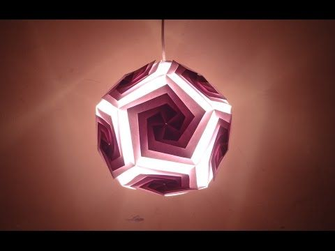 Paper Crafts (Diwali Decoration Ideas):Beautiful Multicoloured Lantern : Christmas Decor - YouTube