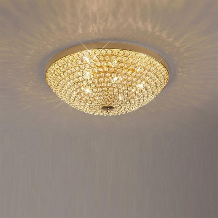 Ava Crystal Ceiling Light Il30757 | The Lighting Superstore