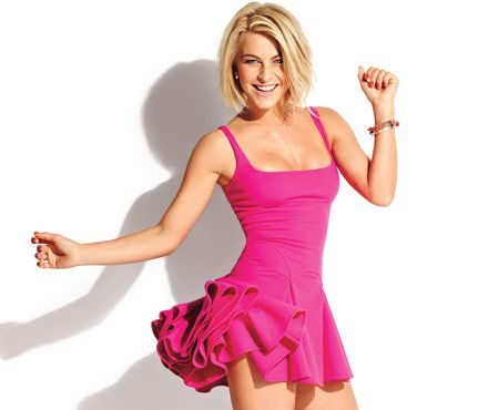 """#JulianneHough """"I'm adventurous. If there's something in front of me that scares me, I think, I should do it. It's about creating memories. You'll always remember the feeling you had."""""""
