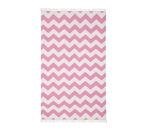 for her room chevron rugpink