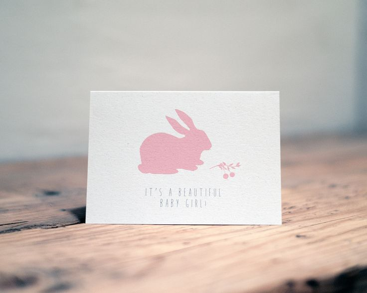 F&R 'It's a beautiful baby girl' in Rabbit