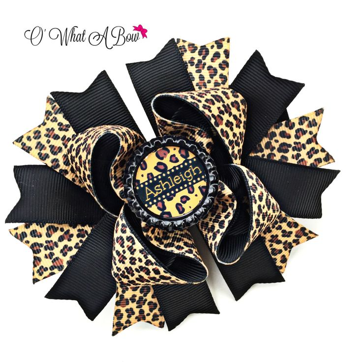 Cheetah Bow, Cheetah Baby, Cheetah Baby Shower, Cheetah Birthday, Cheetah Headband, Cheetah Print bow, Cheetah Print Baby, Personalized Bow by OWhatABow on Etsy https://www.etsy.com/listing/261209388/cheetah-bow-cheetah-baby-cheetah-baby