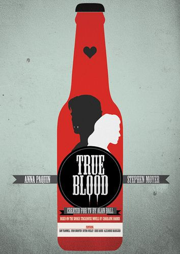 Print inspired by True Blood via Needle Design and IllustrationBad Things, True Blood, Picture-Black Posters, Posters Prints, Trueblood, Bon Temp, Movie, Needle Design, Blood Posters