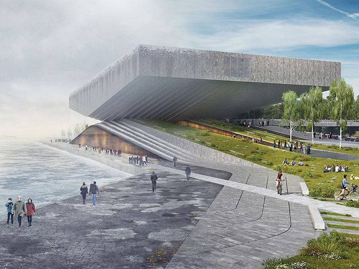 The 36 Weirdest Proposals for the Guggenheim Helsinki - Competitions - Curbed National