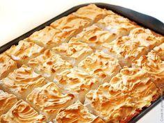 Яблочный пирог на сахарном тесте / Рецепты с фото